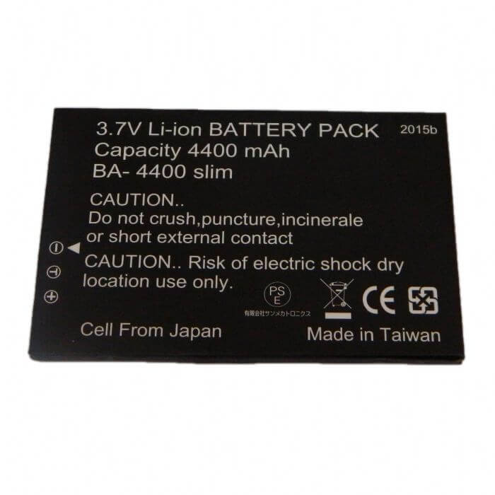 BA-4400 SLIM PV-1000Touch battery