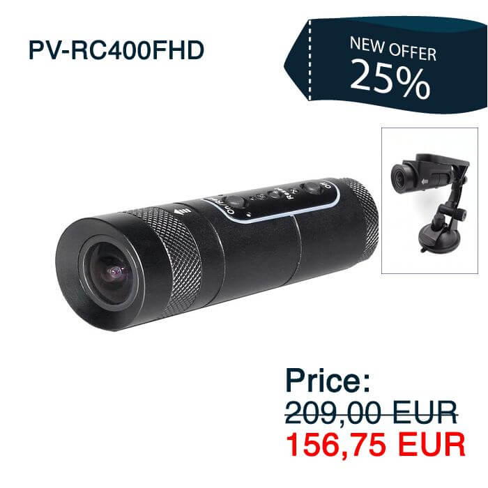 PV-RC400FHD Bullet Camera Recorder