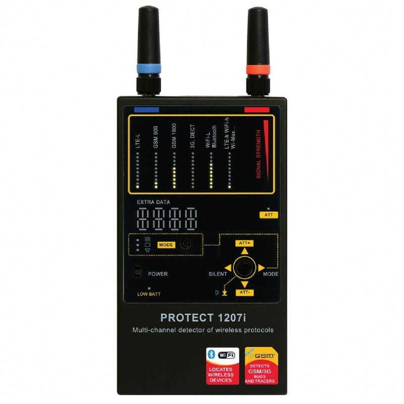 Protect 1207i with complementary microwave antenna