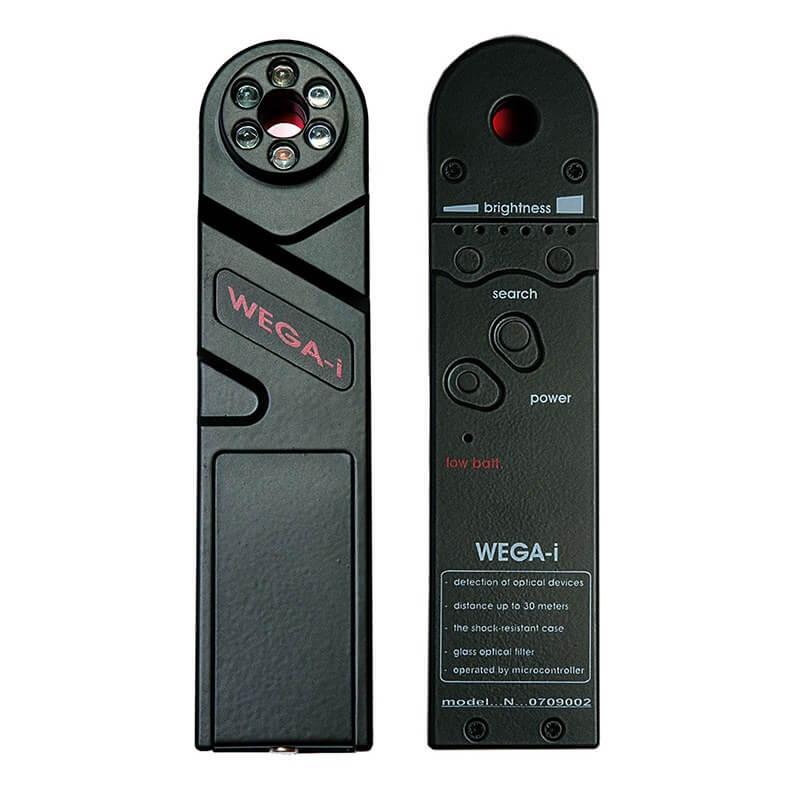 WEGA-i Detektor von versteckten Videokameras