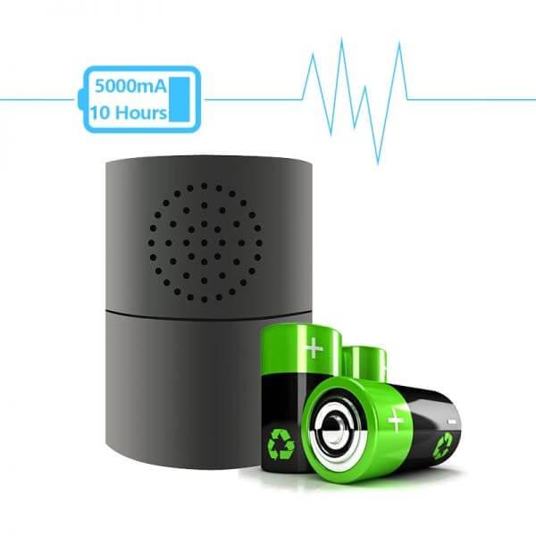 1080 P Speaker and Wi-Fi Gas Alarm Security Camera