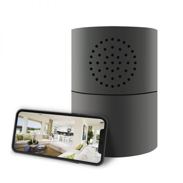 1080 P Speaker and Wi-Fi Gas Alarm Security Camera