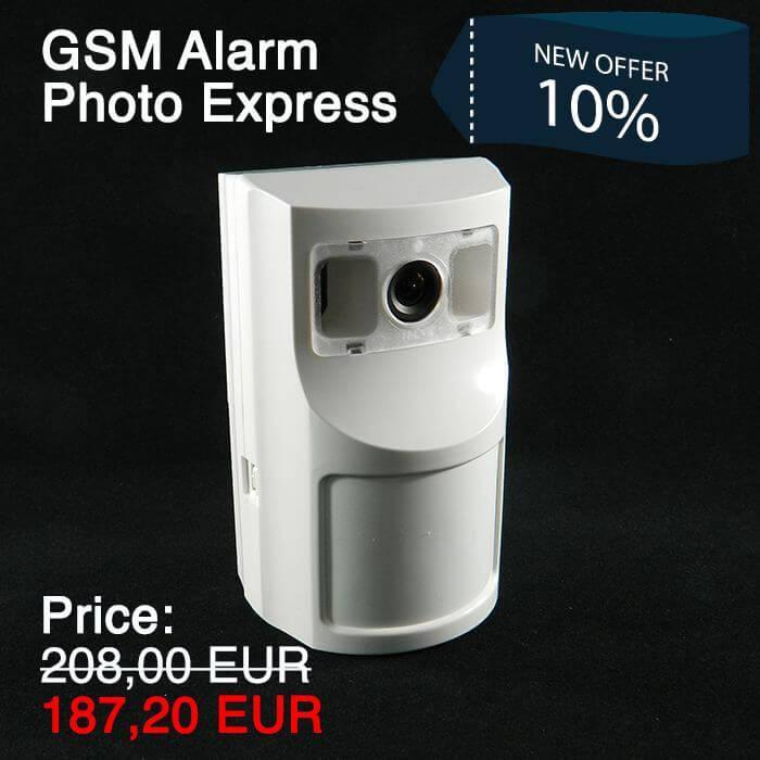 GSM Alarm Photo Express