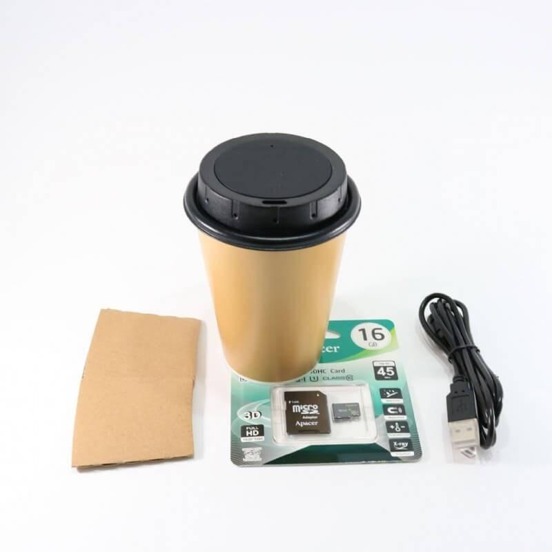 PV-CC10W Kaffeetasse verdeckter WLAN DVR