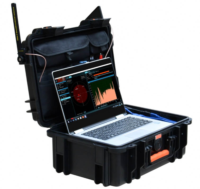 Delta X 2000/6 Real-Time Counter surveillance sweeping system