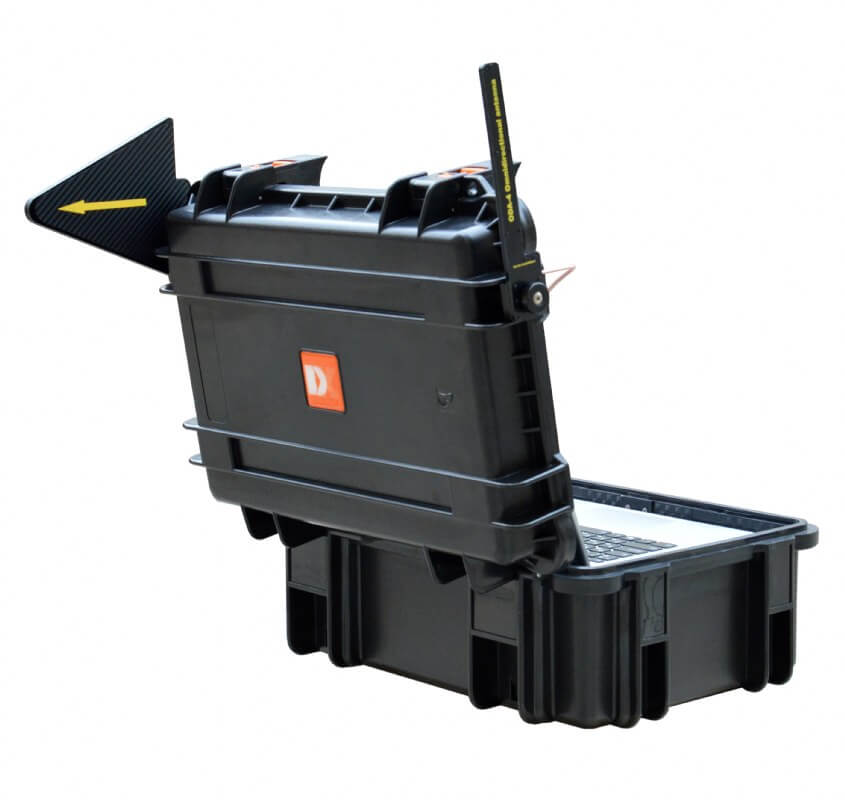 Delta X 100/12 Counter surveillance sweeping system