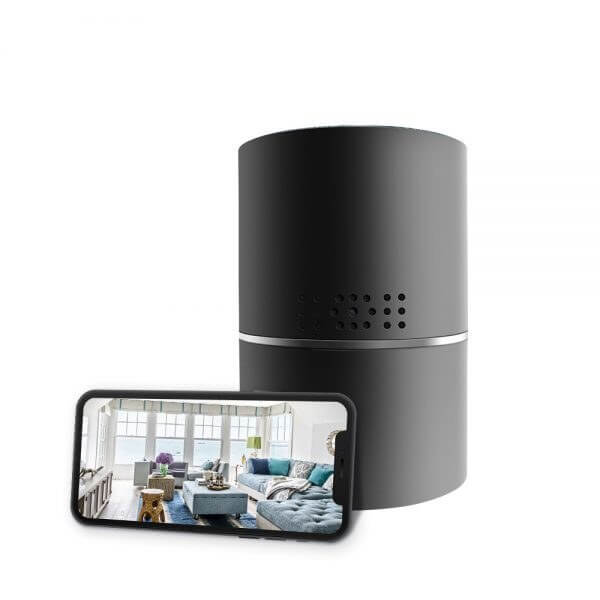 Stereo Bluetooth Speaker Wi-Fi 1080P Hidden Camera