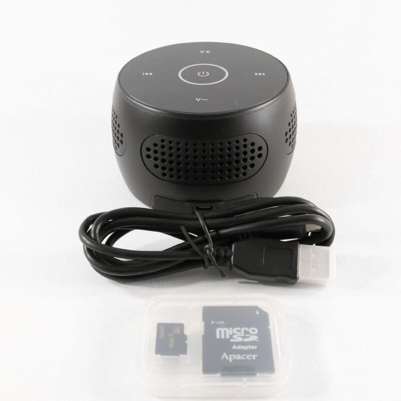 Lawmate PV-BT10i Wireless Bluetooth Speaker Covert IP DVR