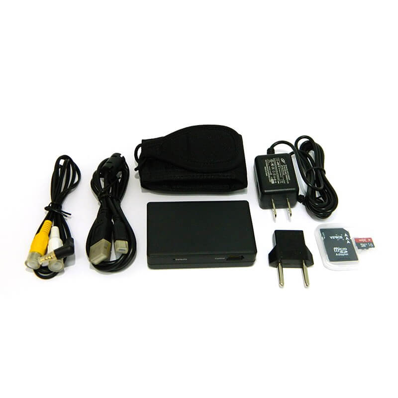 Lawmate PV-500L4i IP DVR with BU-19 Button Camera