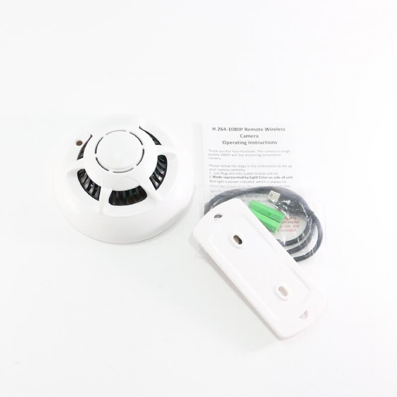 Smoke Detector 1080P Wi-Fi IP DVR