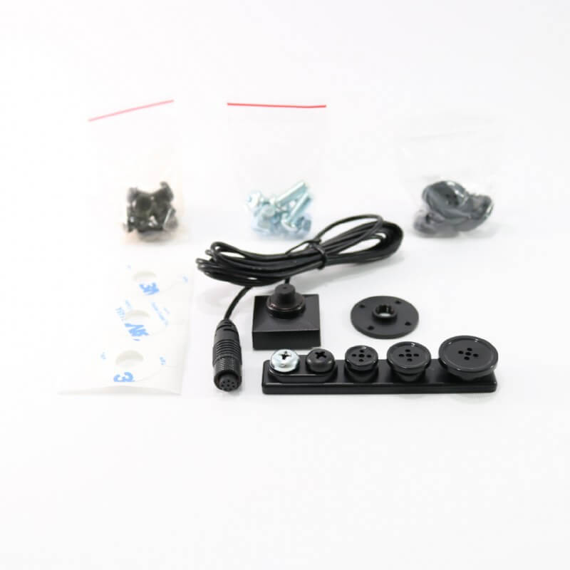 PV-500 Neo Pro WLAN DVR mit BU-18Neo Knopf Kamera