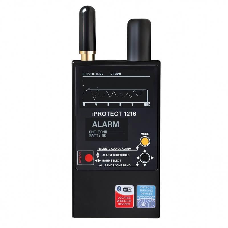iProtect 1216 3-Band RF-Detektor