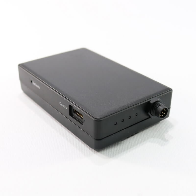 LawMate PV-500 Neo Wi-Fi DVR with reinforced locking plug