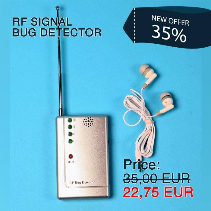 RF Signal Bug Detector