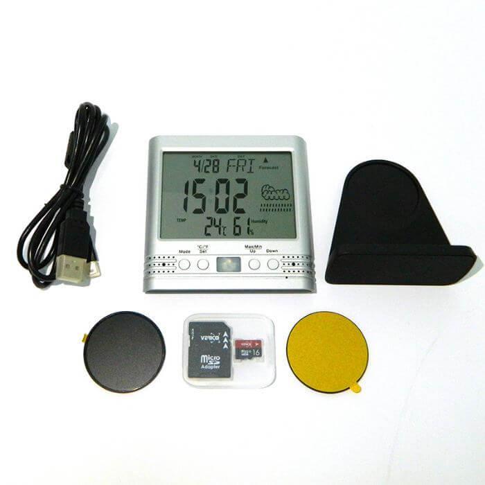 PV-TM10FHD DVR mit Temperaturanzeige