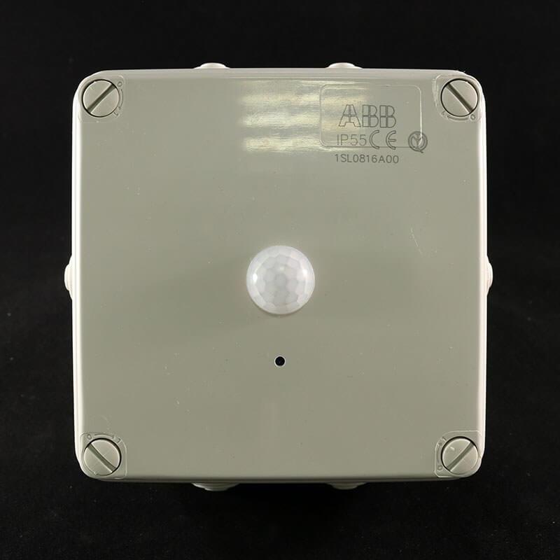 UltraLife Spion Kamera in einer Anschlussbox mit PIR-Sensor