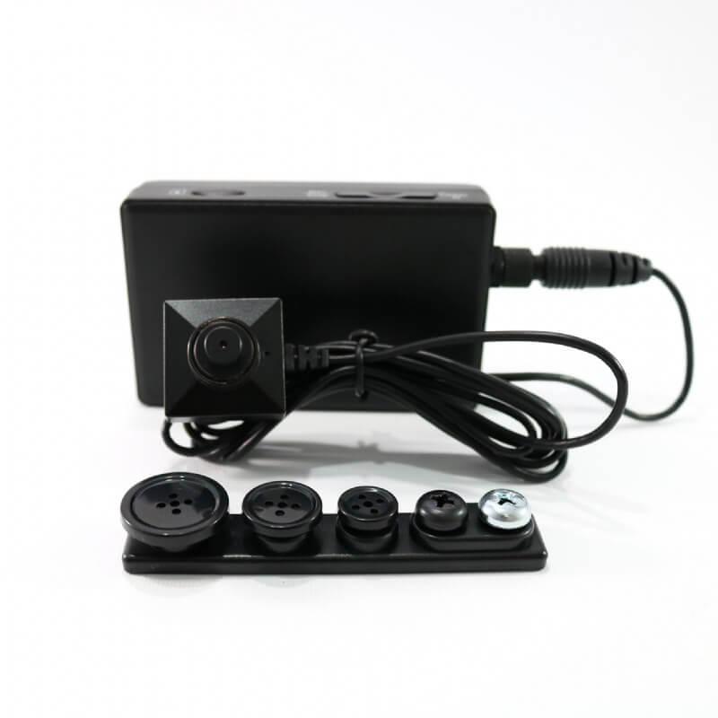 Lawmate PV-500 Neo WLAN DVR mit BU-18Neo Knopf Kamera